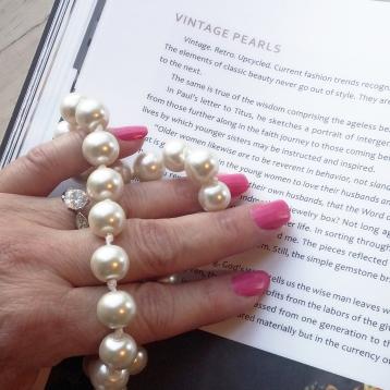 Vintage Pearls 5x5